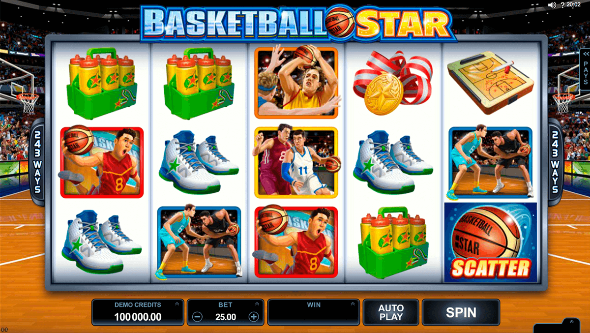 basketball star microgaming