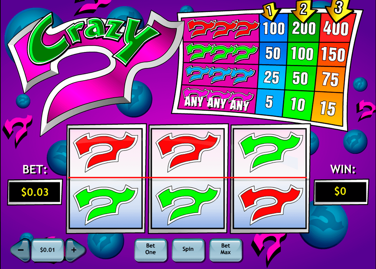 crazy 7 playtech