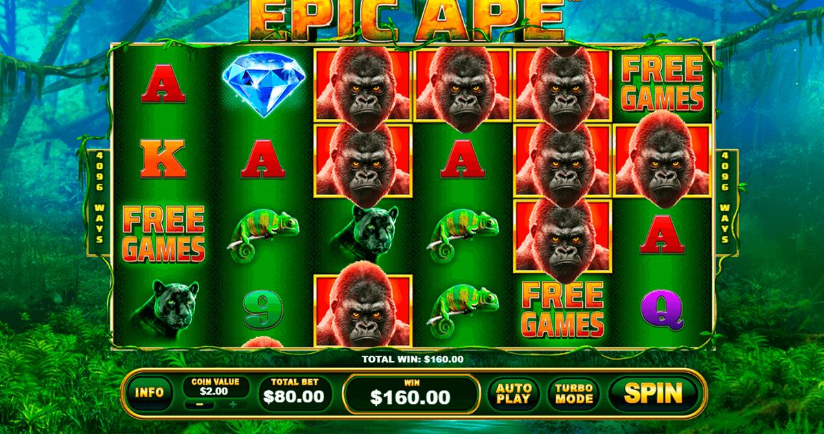 epic ape playtech