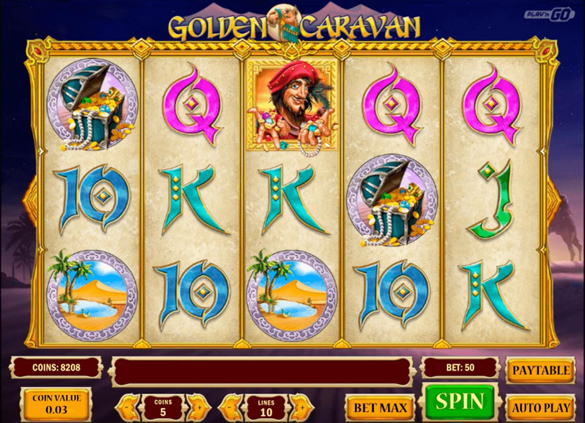 golden caravan playn go
