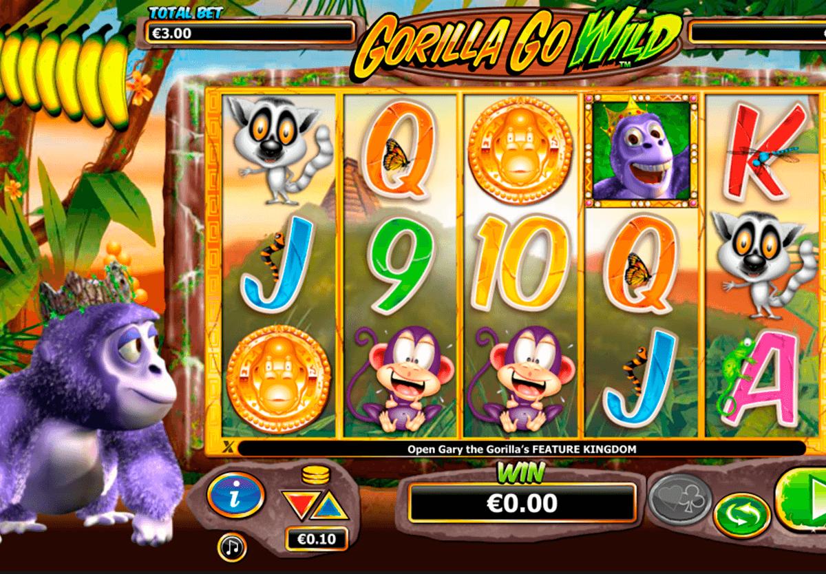 gorilla go wild nextgen gaming