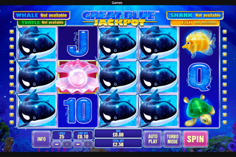 great blue jackpot playtech
