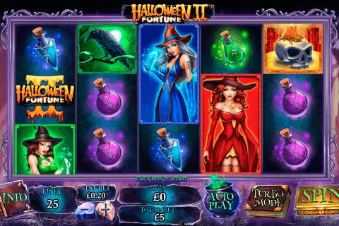 halloween fortune ii playtech