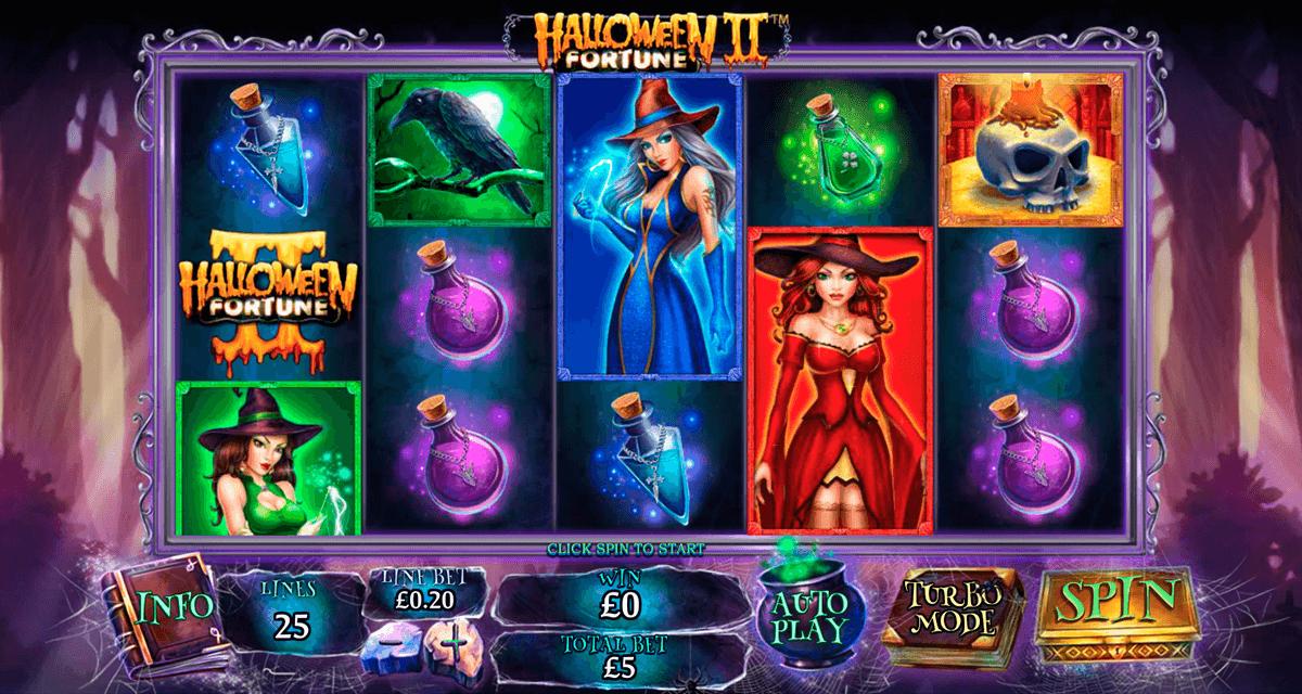 halloween fortune ii playtech