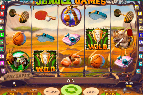 jungle games netent