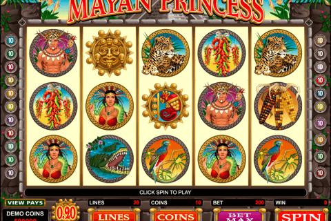 mayan princess microgaming