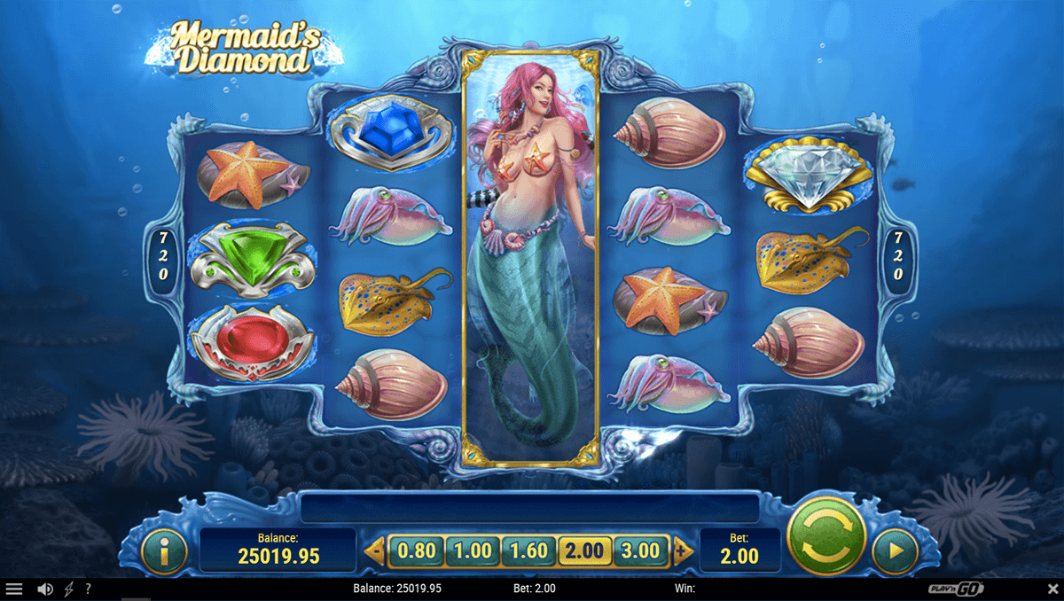 mermaids diamond playn go