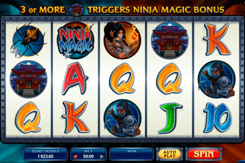 ninja magic microgaming