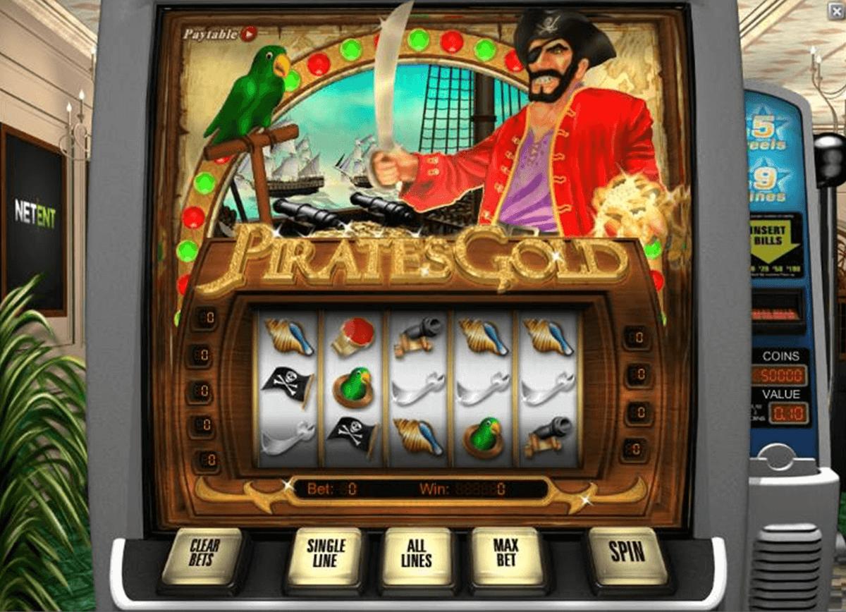 Ставок игровой автомат pirates gold netent