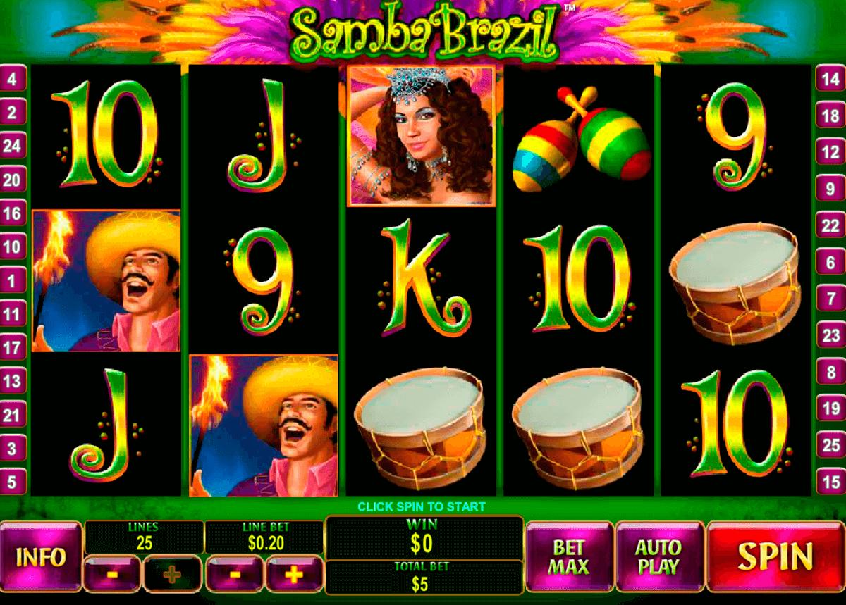 samba brazil playtech