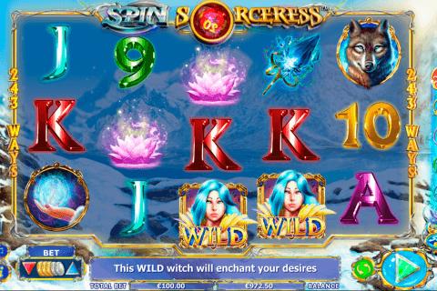 spin sorceress netgen gaming