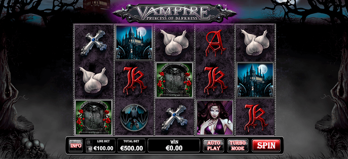 vampire princess of darkness playtech